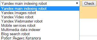 Yandex.Webmaster Bots