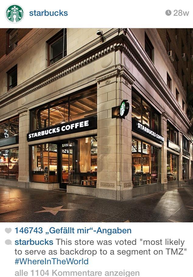 Beispiel Instagram