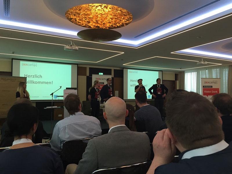 SEAcamp 2015 Begrüßung