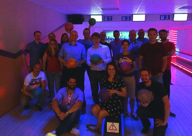Measure Bowling Köln Gruppenbild