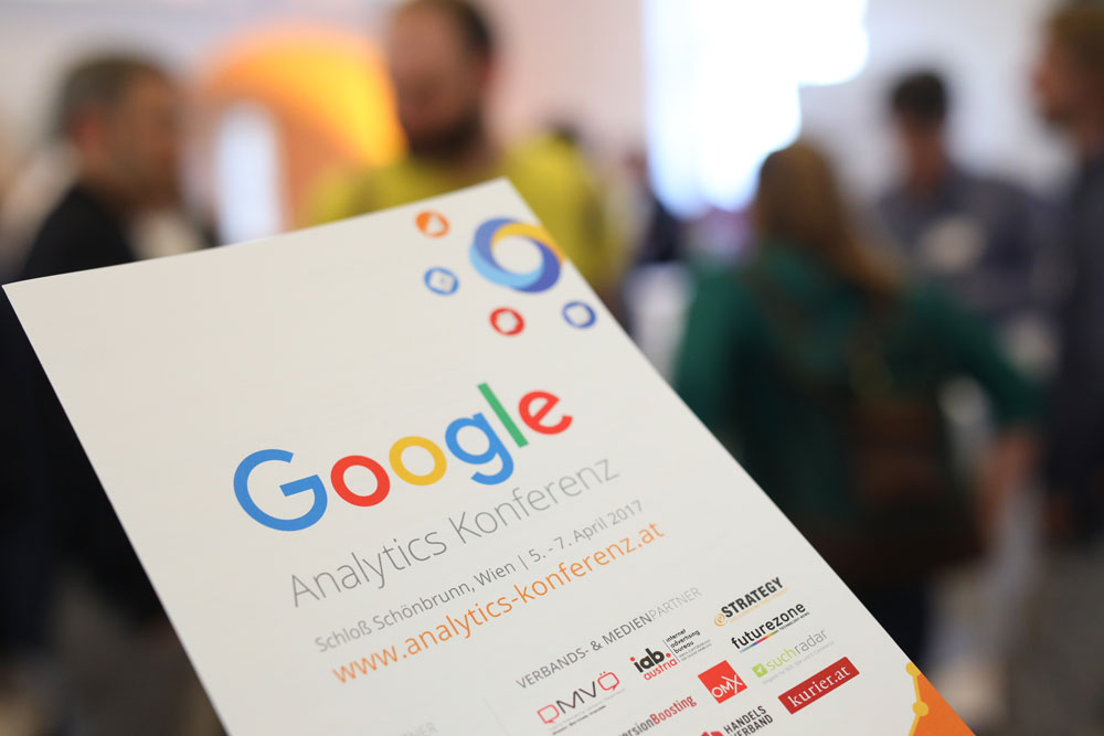 Google Analytics Konferenz 2017 in Wien