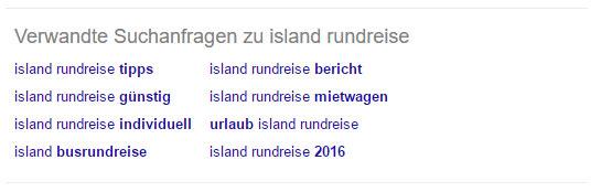 """Verwandte Suchanfragen zu """"Island Rundreise"""""""