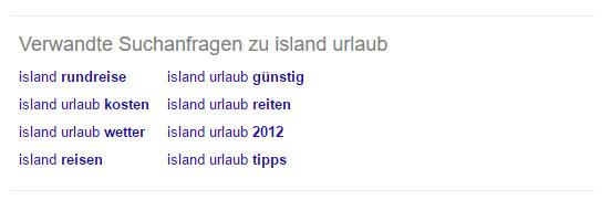 """Verwandte Suchanfragen zu """"Island Urlaub"""""""
