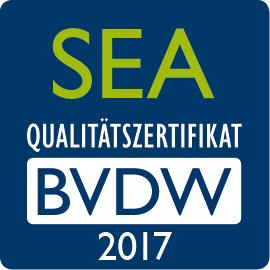 SEA Qualitätszertifikat