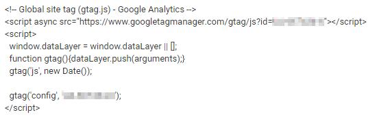 Den Tracking-Code müsst ihr im Quelltext hinterlegen