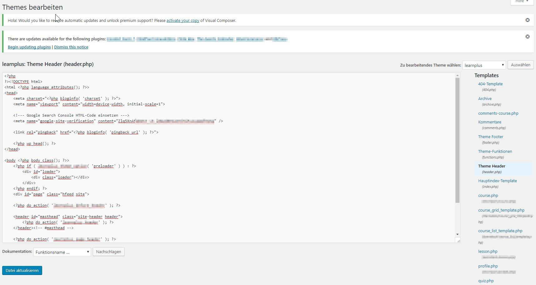 HTML-Tag im HTML-Code hinterlegen