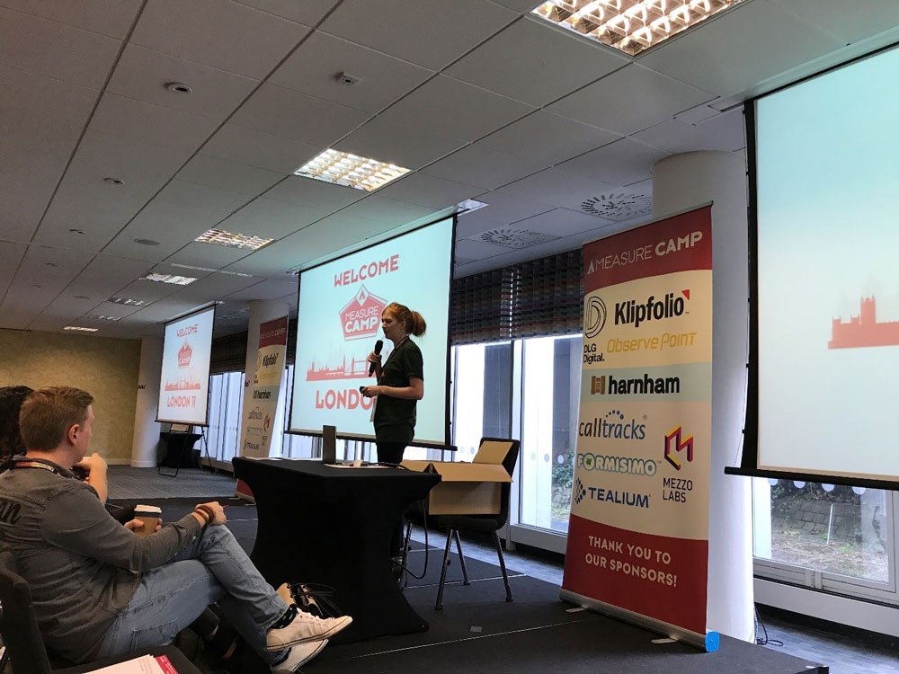 Willkommen beim MeasureCamp in London