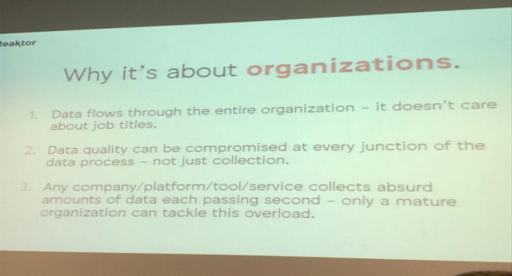 3. Für die Organisationen