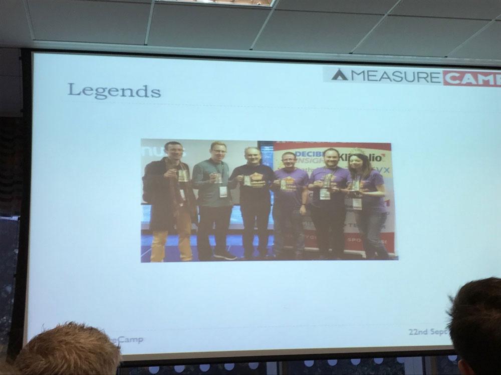 Peter O'Neill reiht sich in die Riege der MeasureCamp Legends ein
