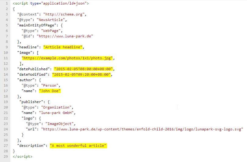 Beispiel Code