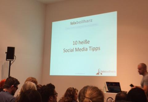 Social Media Tipps auf der WebSuccess