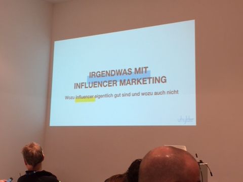 Irgendwas mit Influencer Marketing