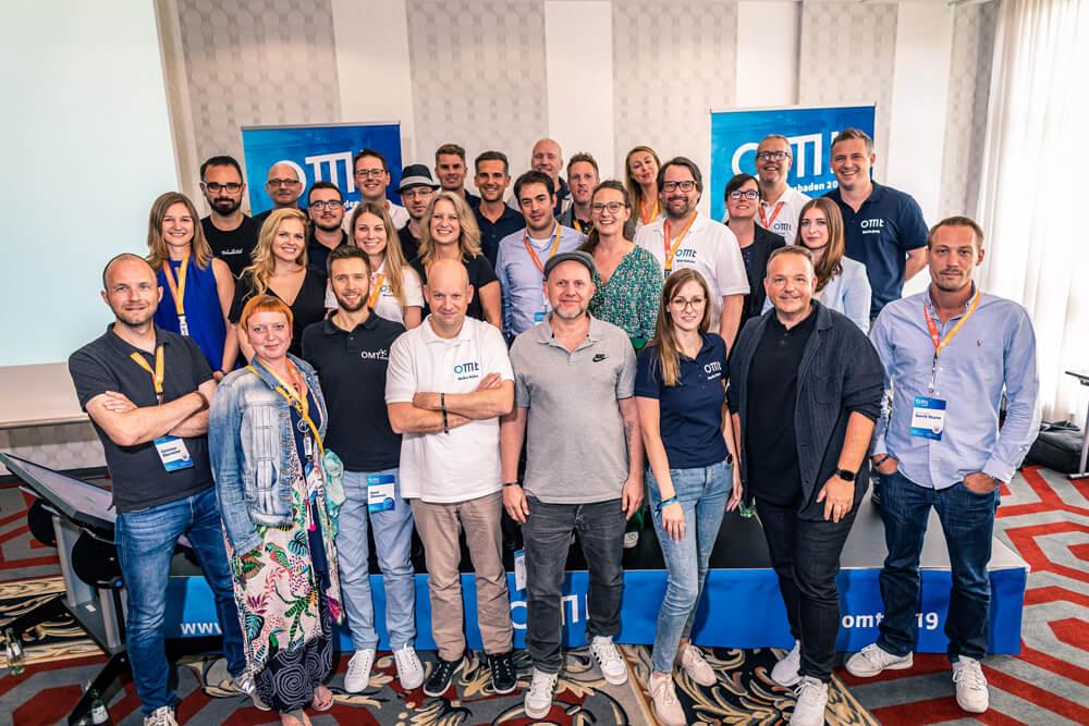 Speaker und Moderatoren des OMT 2019