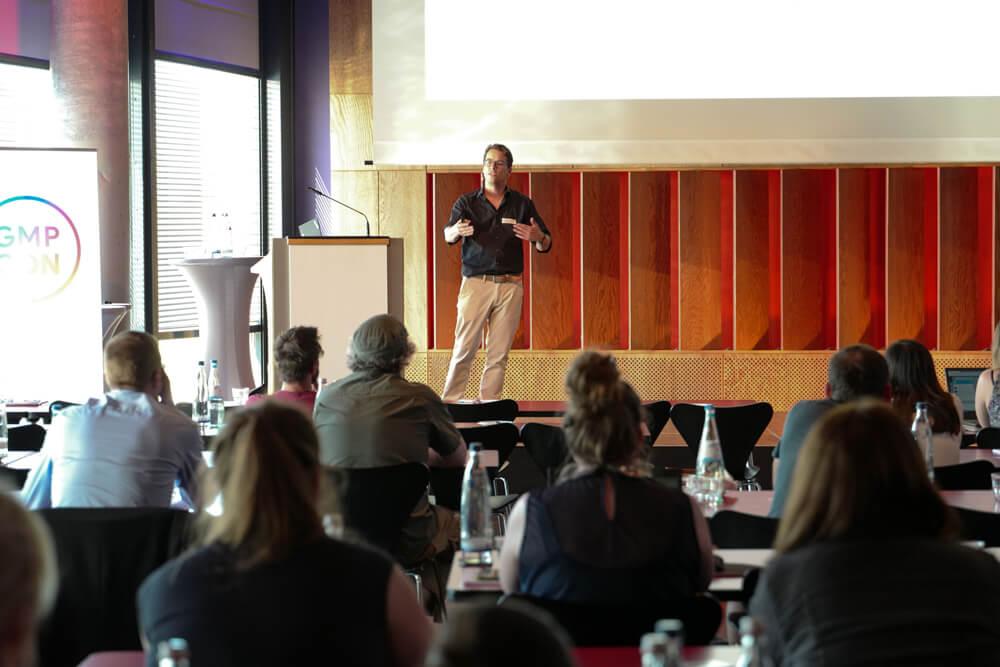 Markus Vollmert auf der GMP Con in Köln