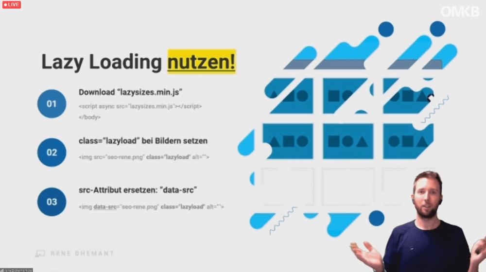 Anleitung für Lazy Loading