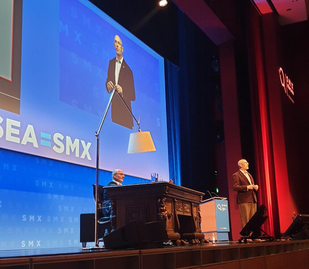 Jim Sterne auf dem SMX in München 2019