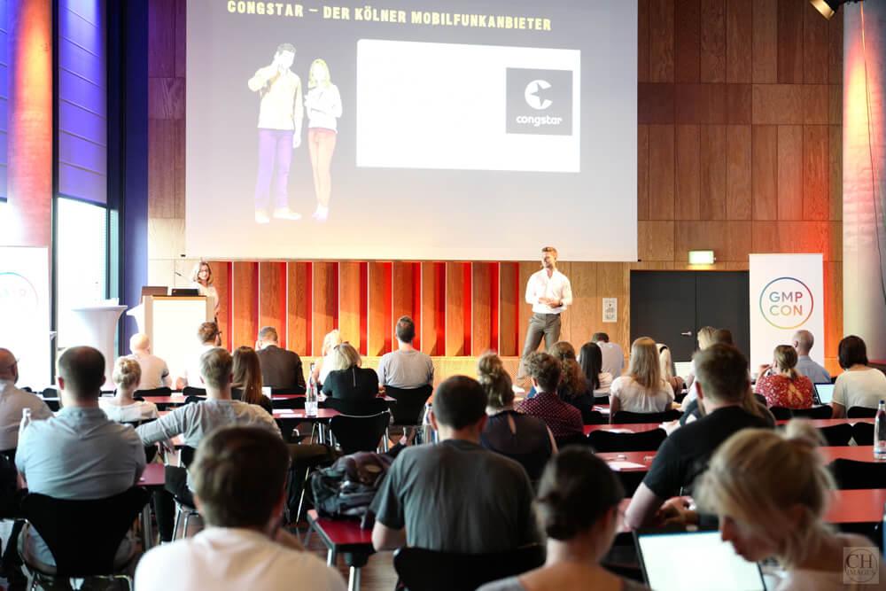 Heike Lück und Sascha Schau auf der GMP-Con 2019
