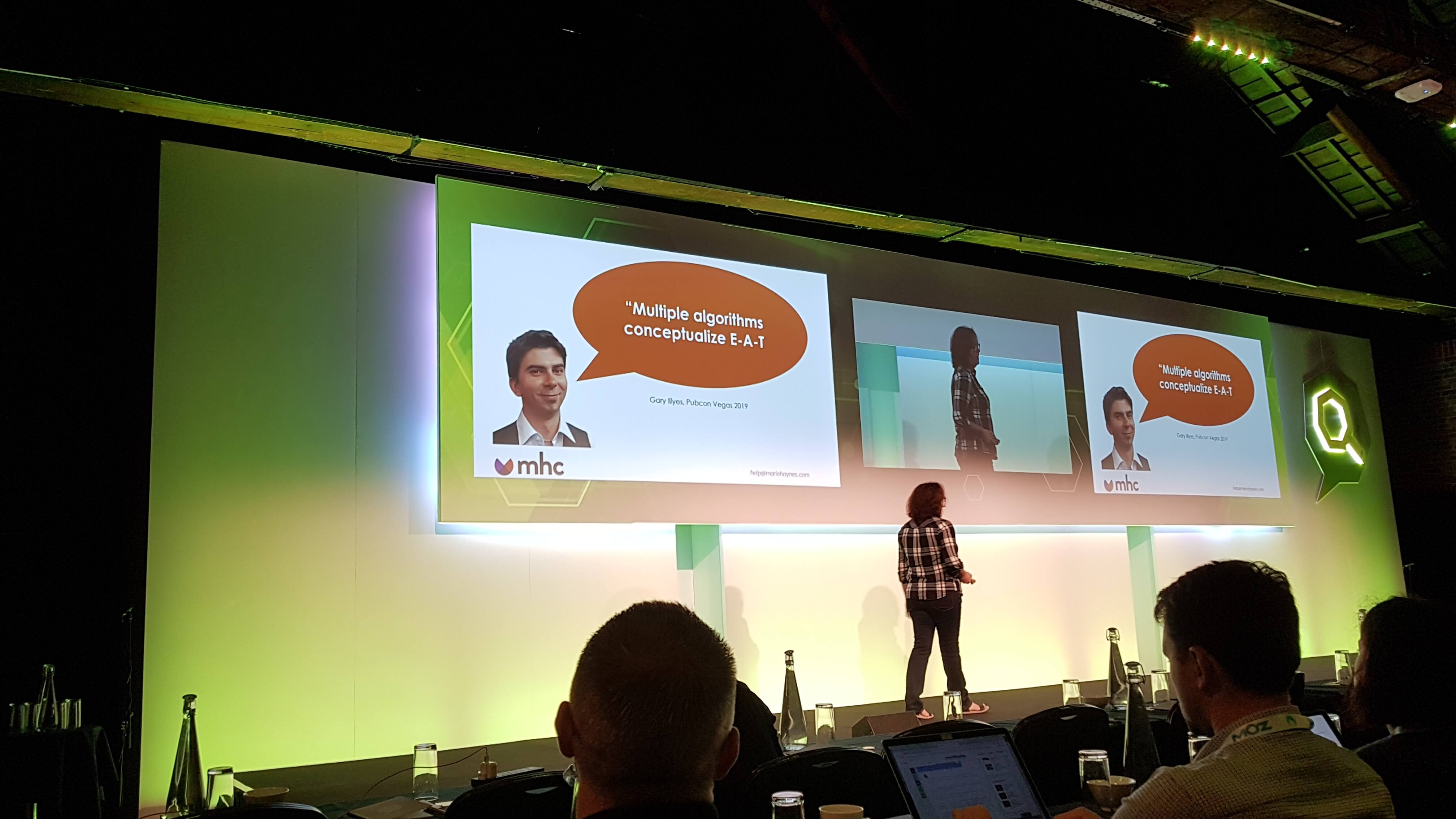 Marie Haynes über E-A-T auf der SearchLove in London