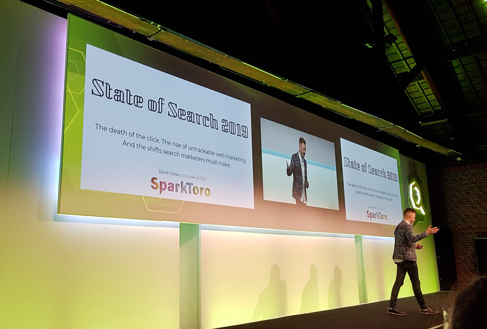 Rand Fishkin auf der SearchLove in London