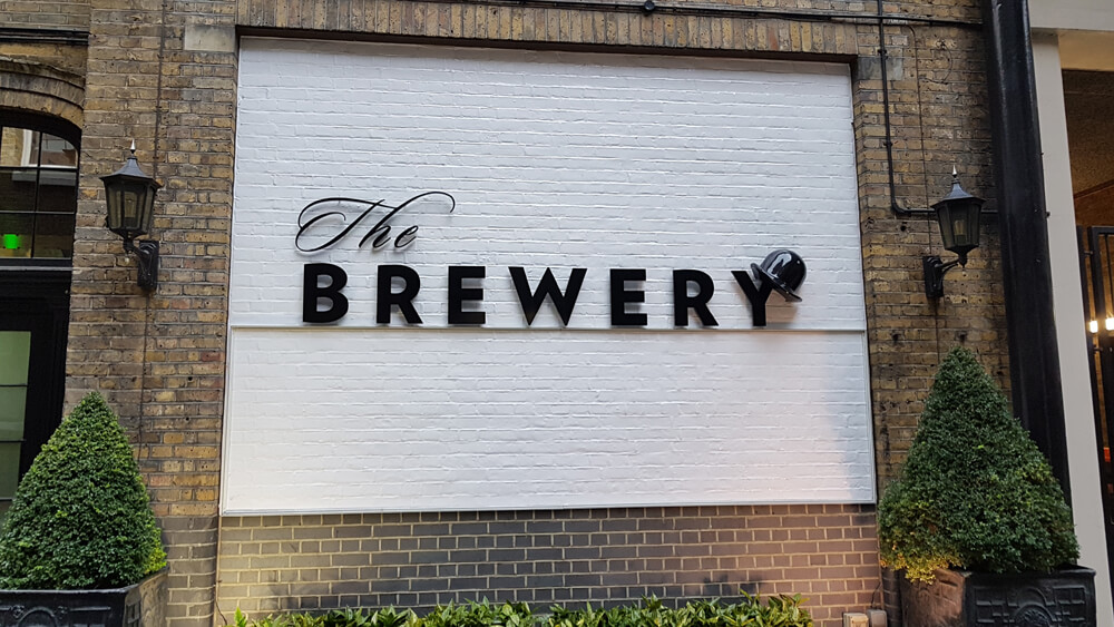 "Die SearchLove 2019 fand in der Event Location ""The Brewer"" statt"
