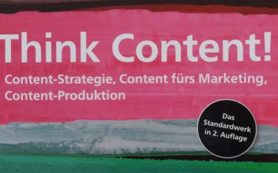 Think Content! Rezension der zweiten überarbeiteten Auflage